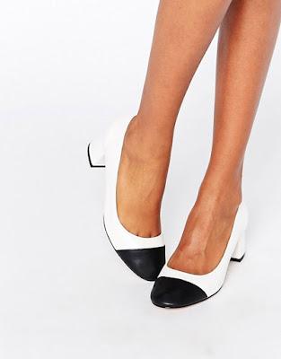 modelos de Zapatos de Tacon Bajo