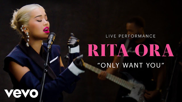 "Rita Ora Unveils Live Performance Of ""Only Want You"""