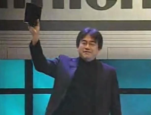 E3 2005 Satoru Iwata Revolution black box reveal