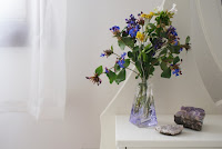 perfume vase flowers diy francinesplaceblog