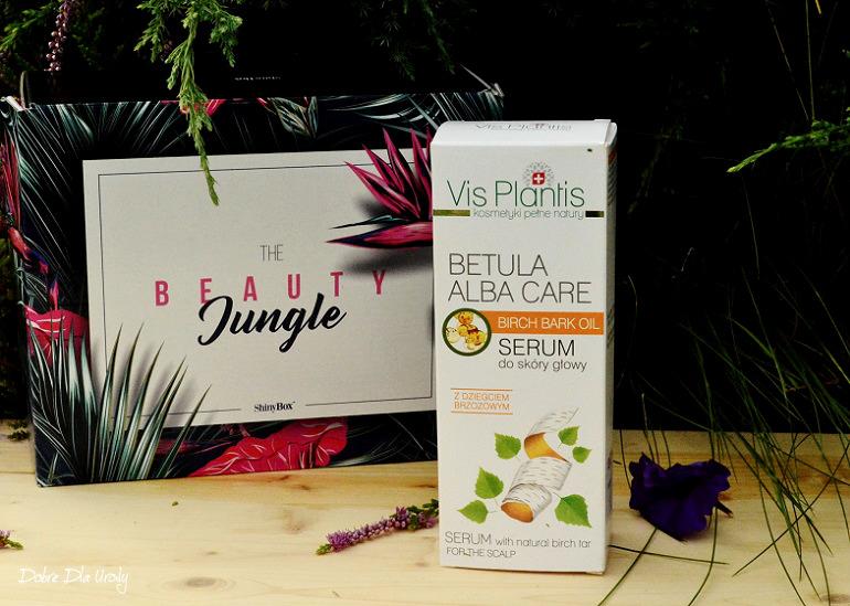 ShinyBox - Vis Plantis Betula Alba Care Serum do skóry głowy z naturalnym Dziegciem Brzozowym