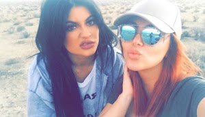 Kylie Jenner: no need of Tyga, or glitter to be happy!