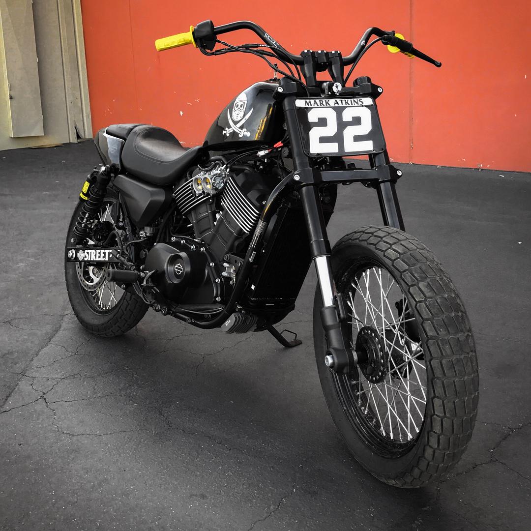 Harley Hooligans Street Rod 750 Rusty Butcher ...