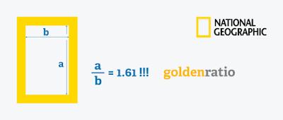 6 - حاول إستخدام النسبة الذهبية :