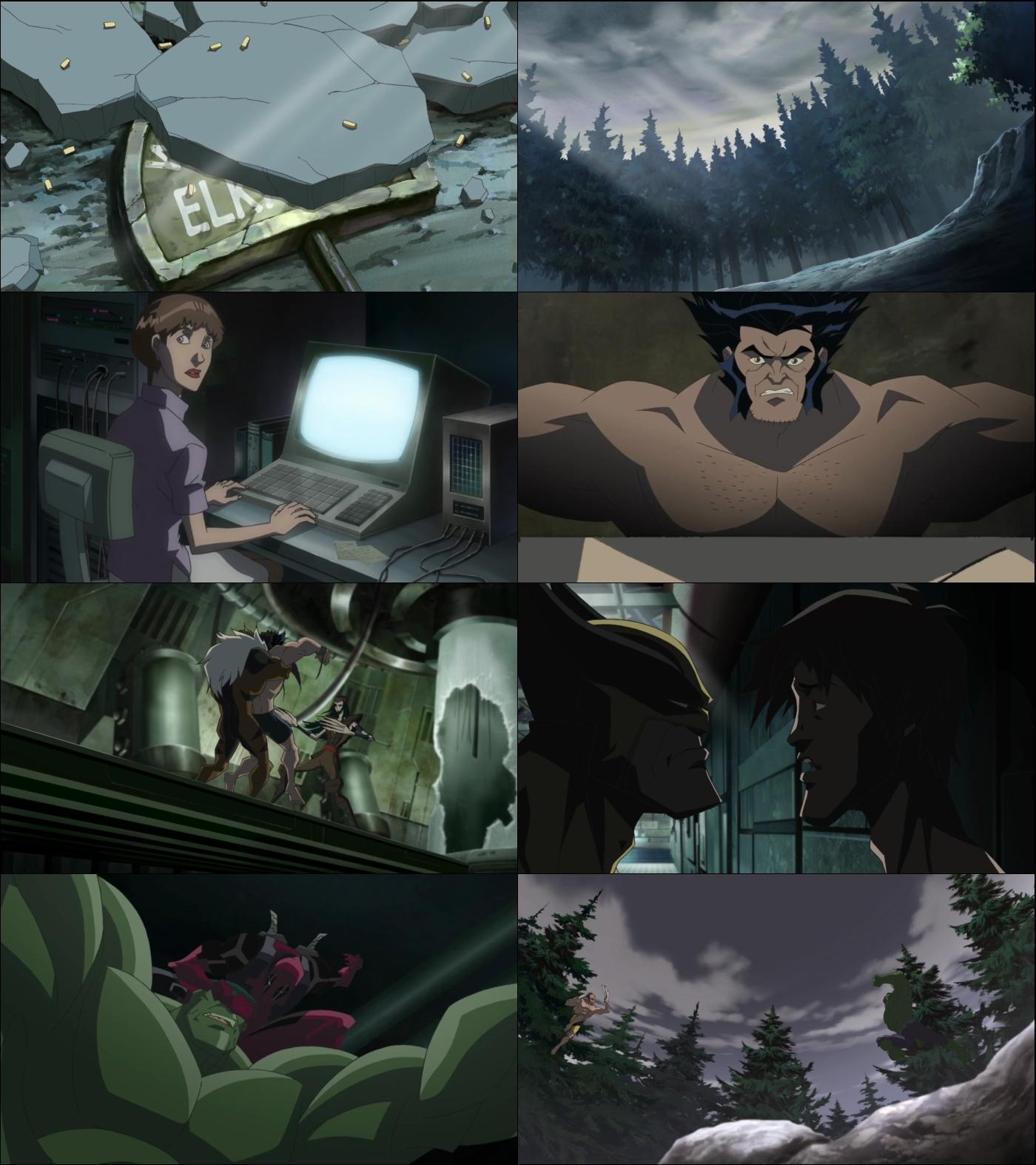 Hulk vs Wolverine 1080p Latino