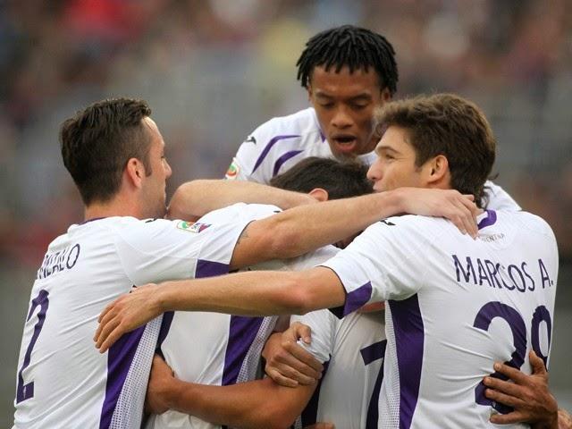 VIDEO Cagliari Fiorentina 0-4: il grande ritorno dei viola con Mario Gomez.
