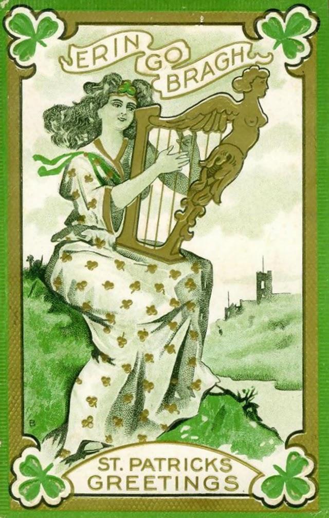 20 Adorable Vintage St. Patrick's Day Cards ~ vintage everyday