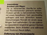 Steinofen-Pflege Anwendung: Naturstein und Specksteinofen-Pflegeset 4 tlg.