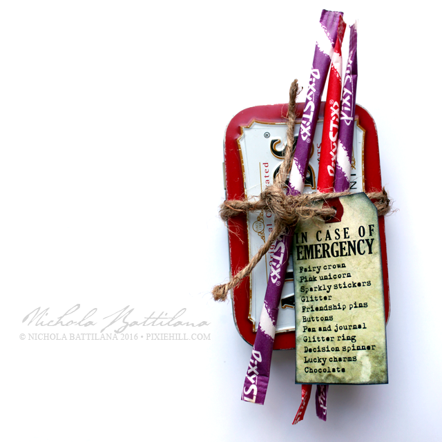 Emergency Altoid Tin Stocking Stuffer - Nichola Battilana