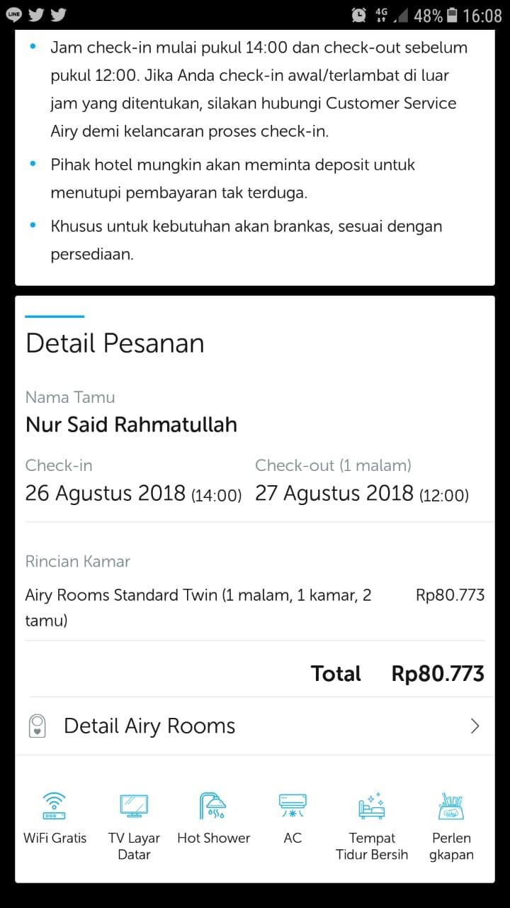 Beruntung Dapat Booking Hotel Murah Di Jakarta Utara Cuma Rp 80 000 Nursaidr