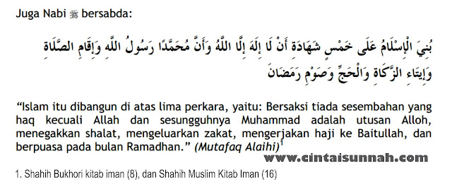 Belajar Memahami hukum, hikmah, dan manfaat Berpuasa. Hadits Shahih Tentang Shalat, Zakat, Haji, dan Berpuasa di Bulan Ramadhan