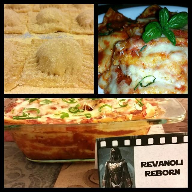 Star Wars Party Food - Revanoli Reborn - AKA Ravioli Lasagna