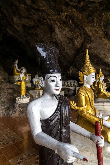 Grotte de Ya-Thay-Pyan - Région de Hpa An - Myanmar Birmanie