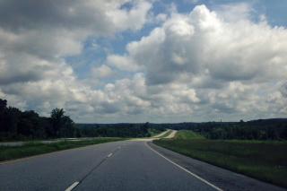 Drive into Lumpkin, Georgia