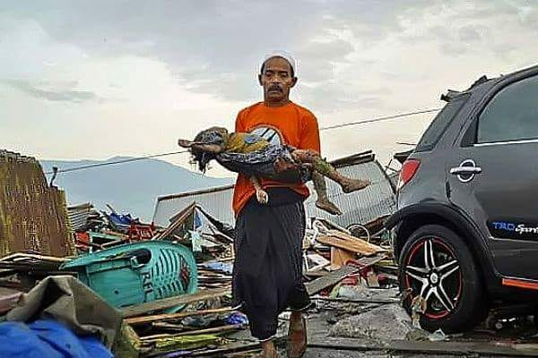 #PrayForDonggala