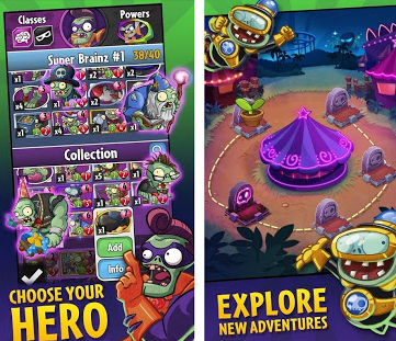 plants vs zombies HEROES-2