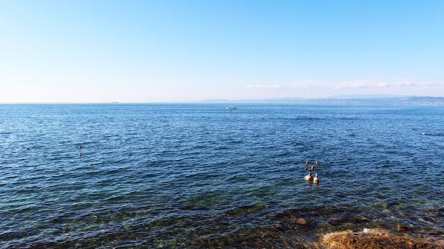 Izola plage