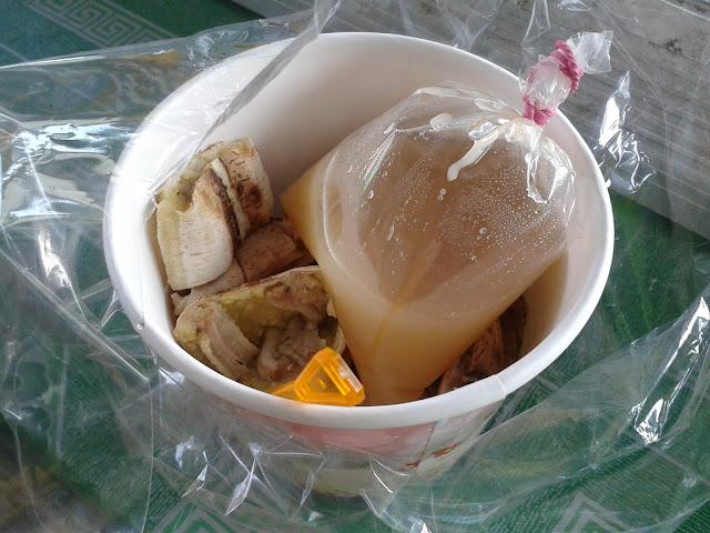 ขนมไทย แจกสูตรน้ำจิ้มกล้วยปิ้ง