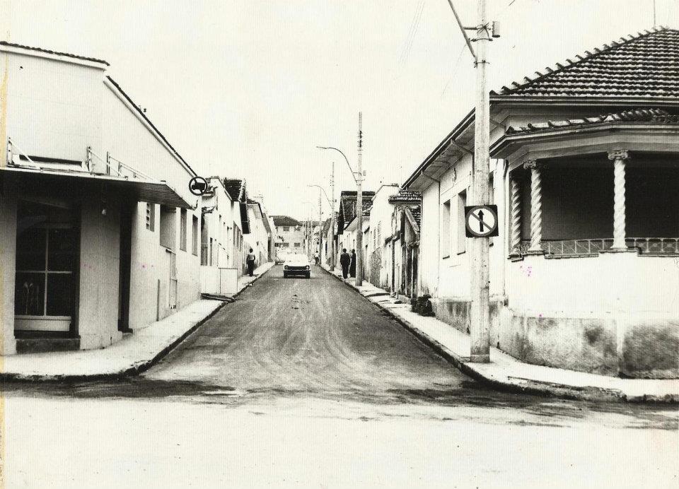 Rua Major Tito década de 70