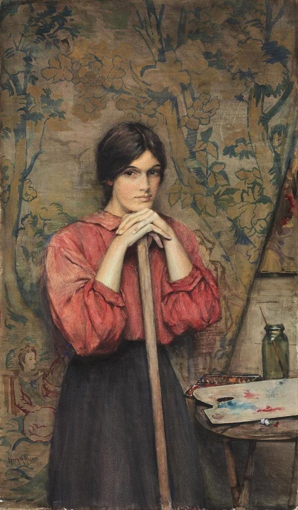 Victorian British Painting Henry Meynell Rheam