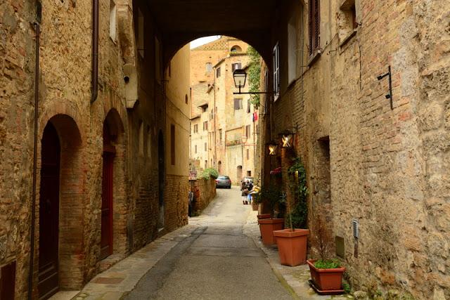 Ruelas de San Gimignano