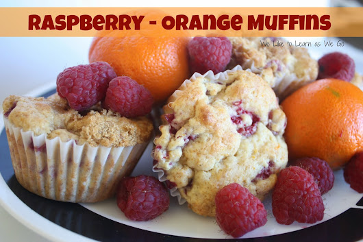 Raspberry-Orange Muffin Recipe #MuffinMadness