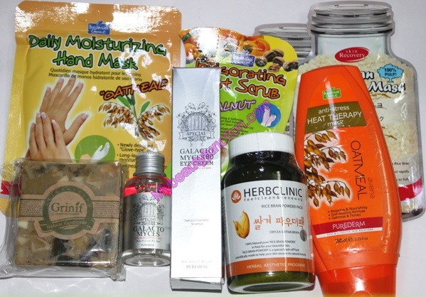 Memebox Whole Grain special beauty box review, unboxing
