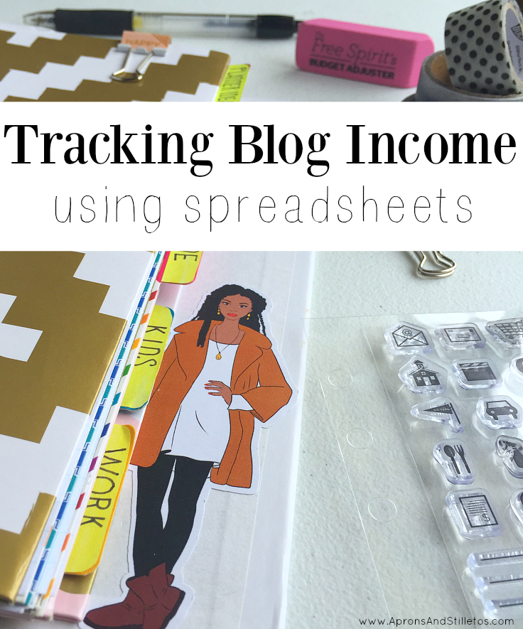 How to Track Blog Income Using Spreadsheets