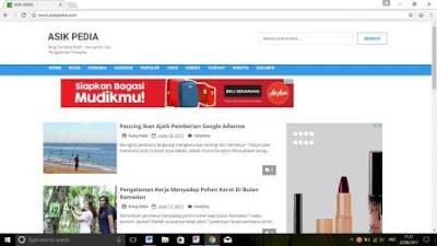 Asik Pedia, Blog Asik Buat Dibaca