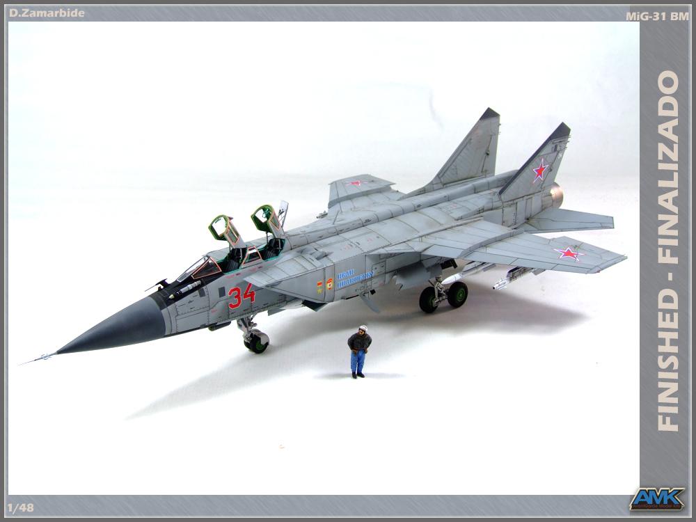 DZModels: MiG-31BM (AMK 1/48)