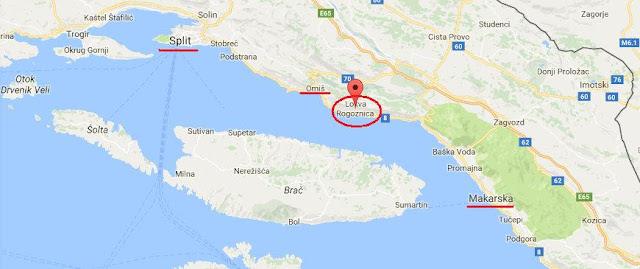 Chorwacja, który rejon?
