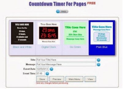 How to Add a Countdown Clock in Facebook