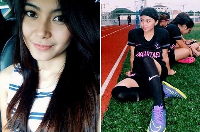 6 cewek cantik pemain futsal asal indonesia