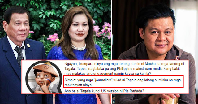 ABS-CBN correspondent disrespects Presidential spouse Honeylet Avaceña in New York