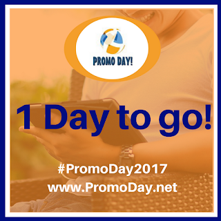 One day to go! #PromoDay2017 Saturday 6th May