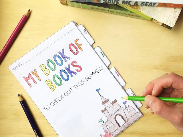 Summer reading list for upper elementary school students.