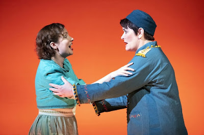 Mozart: Idomeneo - Galina Averina, Catherine Carby - English Touring Opera (Photo Richard Hubert Smith)