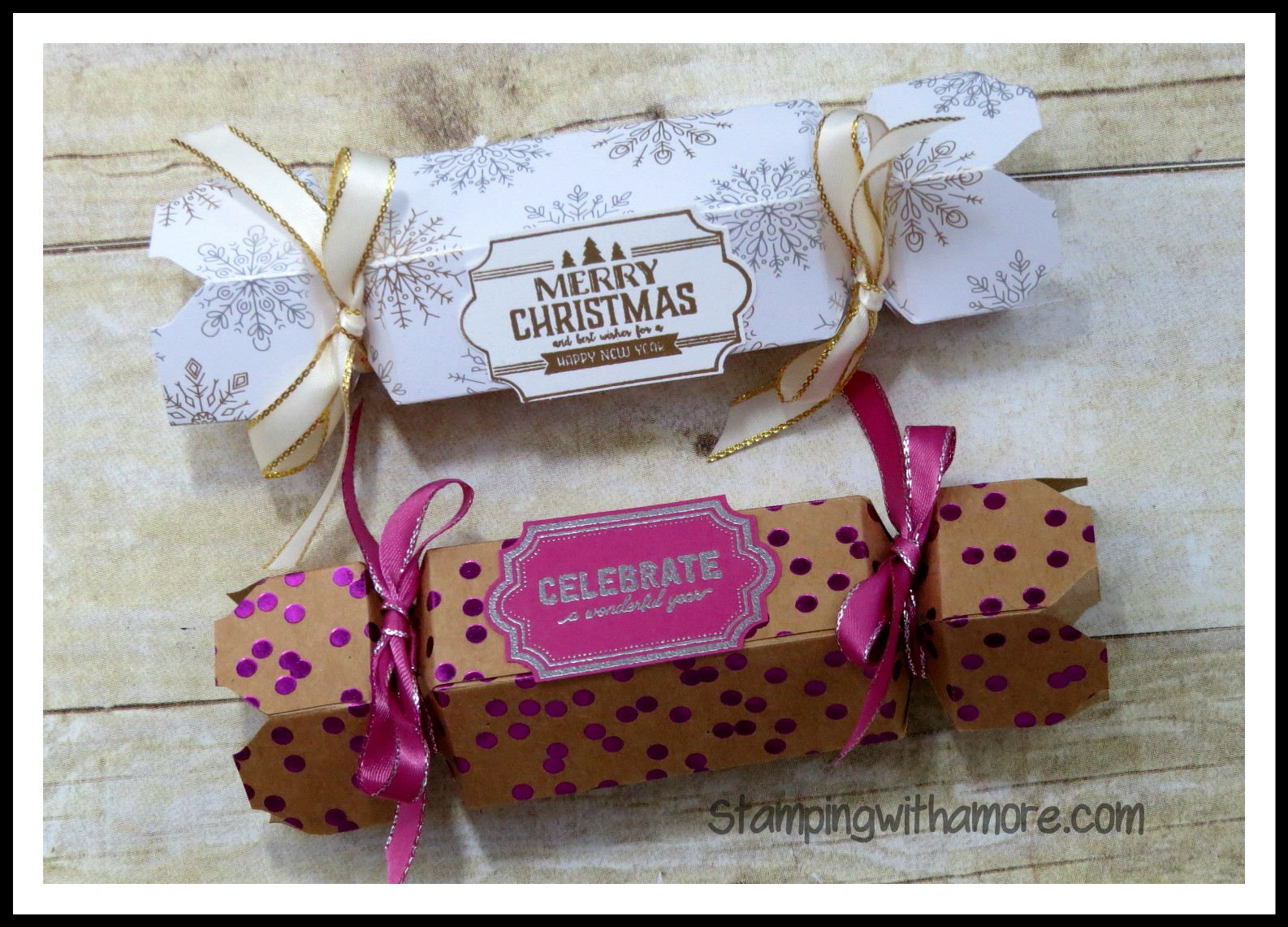 Stampingwithamore Merry Christmas Cracker