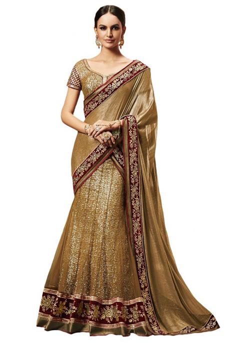 gambar baju sari india asli