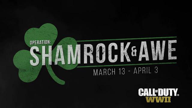 """الإعلان عن عملية """" شامروك و الرعب """" في لعبة Call of Duty: WWII و هذه تفاصيل محتوياتها المجانية"""