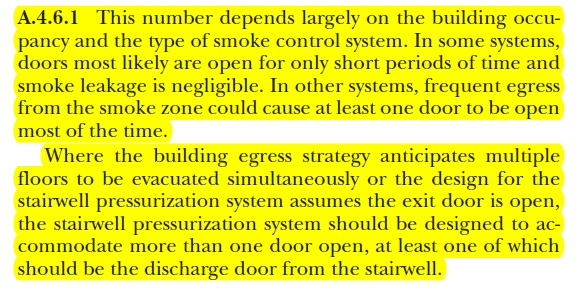 stair pressurization ,smoke management,smoke ,nfpa 92