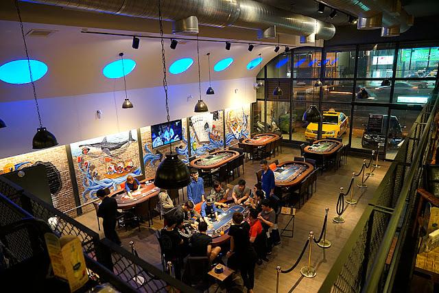 DSC00721 - 熱血採訪│Raise遊戲主題餐廳還可以揪團玩德州撲克遊戲