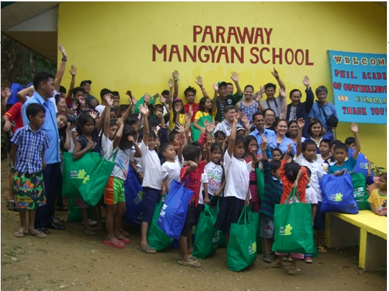 PAO Rolls Out EyeBags Project for School Children