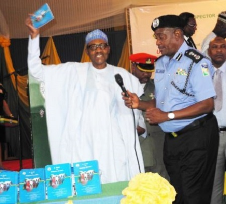 Why I Kept Solomon Arase as Police IG After Taking Over From Goodluck Jonathan - Buhari Opens Up