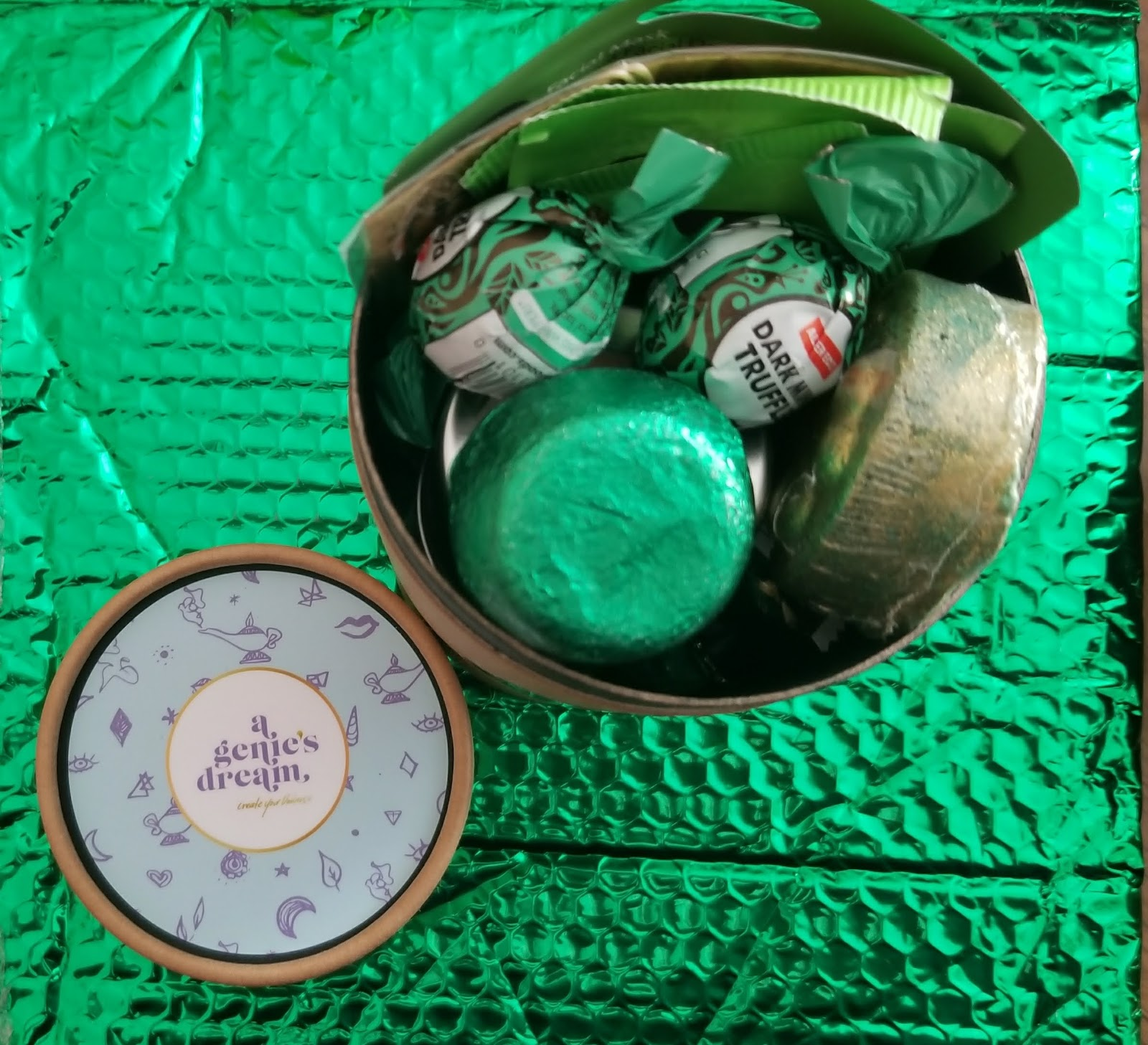 This Is For The Raw Tube Which Is A Mix Of Organic Items Like Pads Tampons Crystals Name Brand Makeup And Other Treats