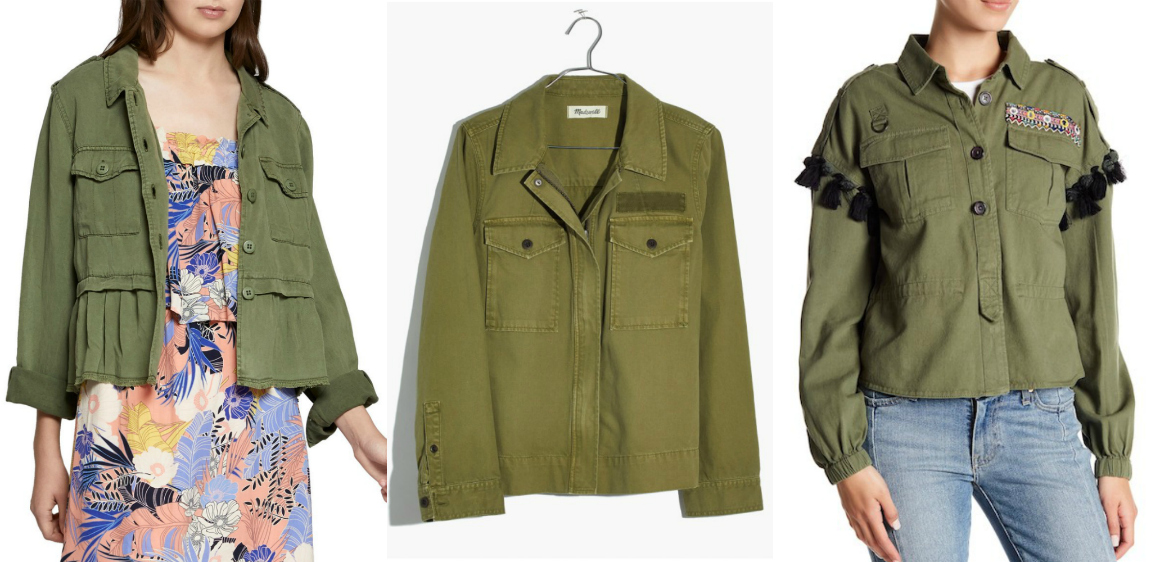 upcycled DIY cropped army jacket secondhand #haulternative stylewise-blog.com