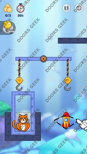 Hello Cats Level 163 Solution, Cheats, Walkthrough 3 Stars for Android and iOS