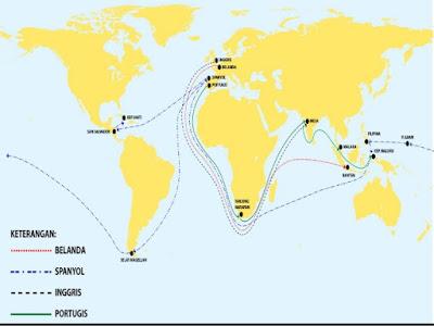Sejarah-Kronologis Petualangan,Penjelajahan,Dan Penemuan Dunia Baru Bangsa Belanda Hingga Sampai Ke Indonesia