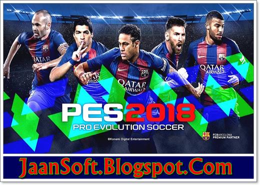 Pro Evolution Soccer 2018 PC Game Download Full Version