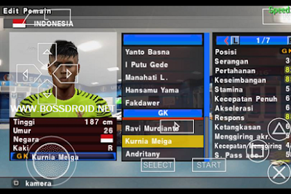 Save Data Pes Jogress PPSSPP Fix Squad All League Terbaru